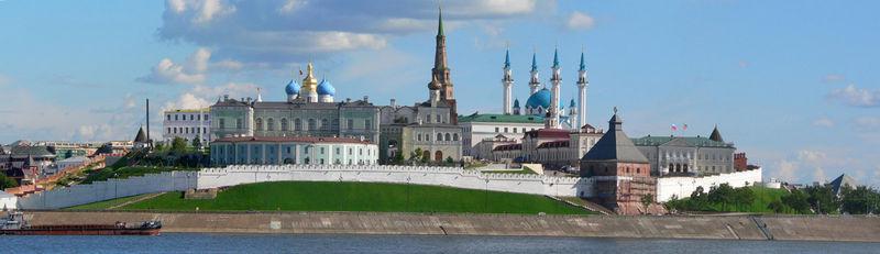 rusya kazan kremlin